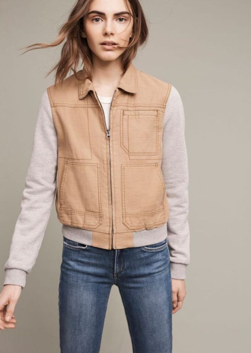 Anthropologie Excursion Collared Bomber