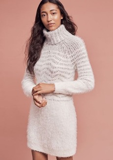 Anthropologie Eyelash Sweater Dress