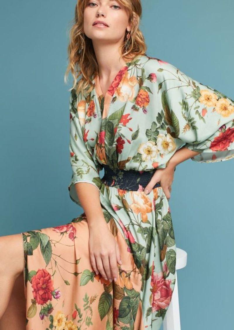 13ce826e9c9ae On Sale today! Anthropologie Farm Rio Marilla Maxi Dress