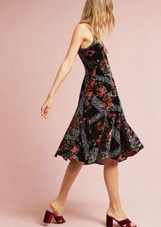 Floral Burnout Slip Dress