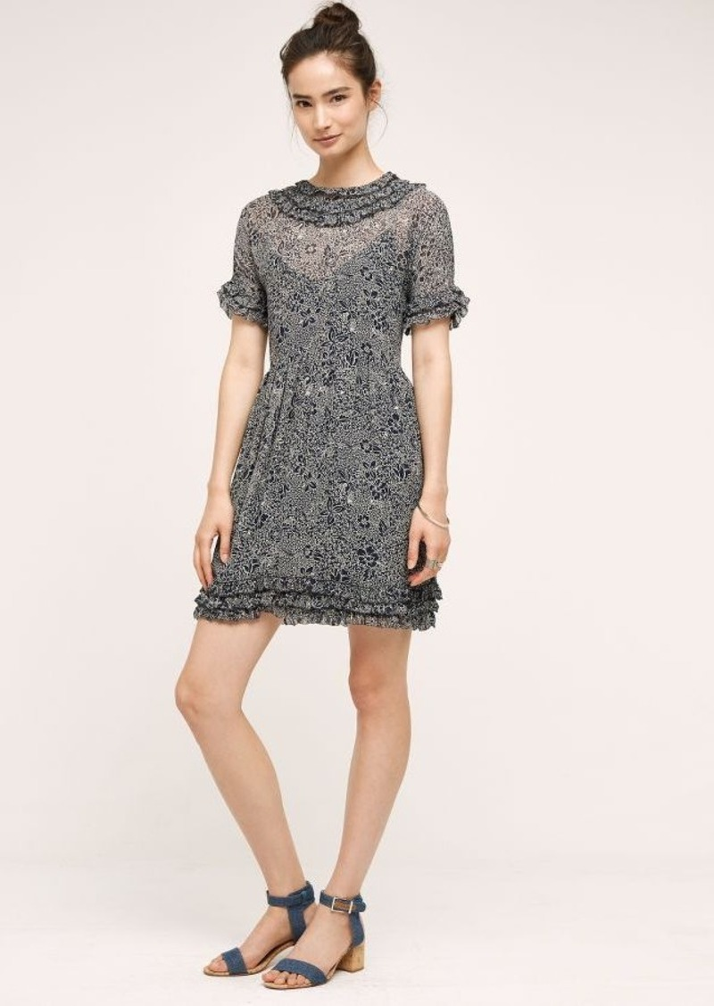 Anthropologie Floral Shadows Dress