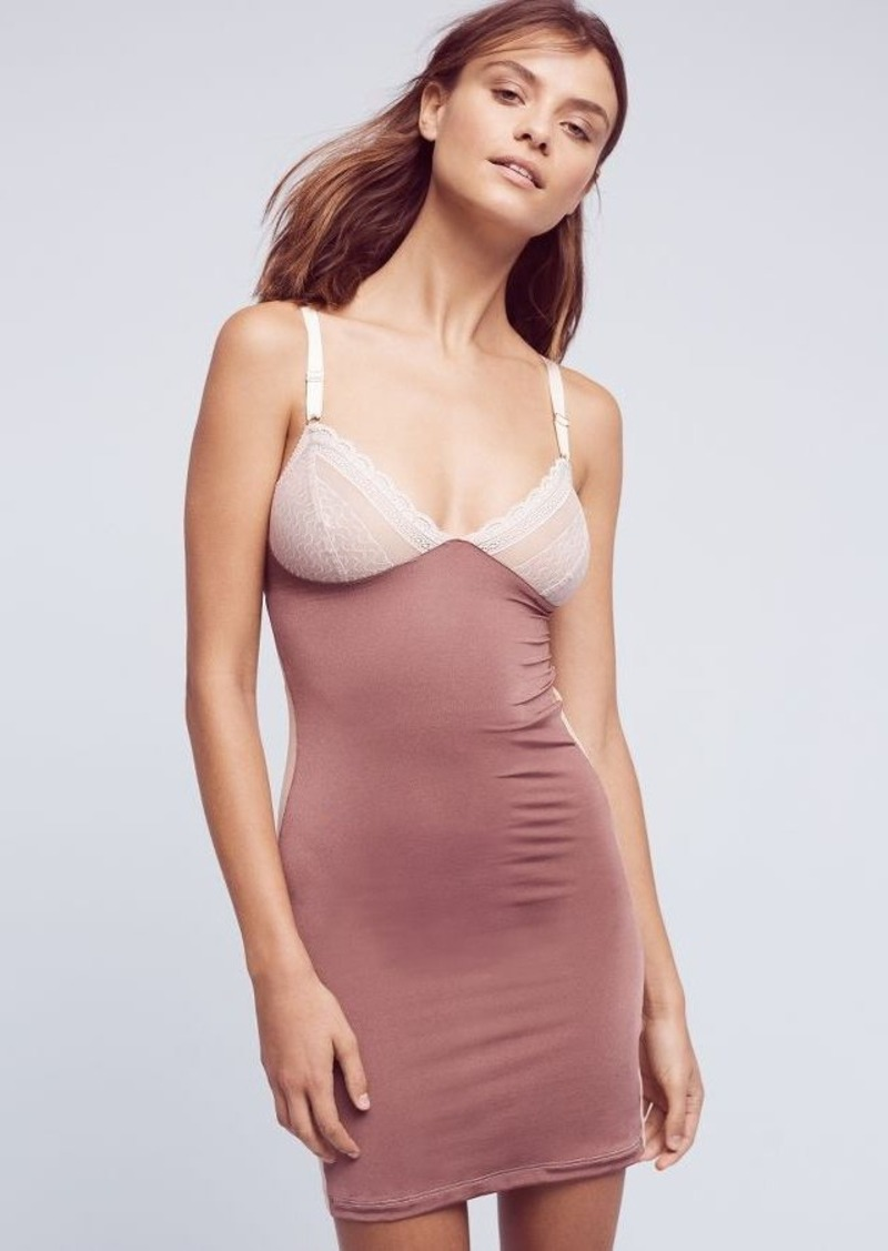 Anthropologie Fortnight Ivy Cutout Slip