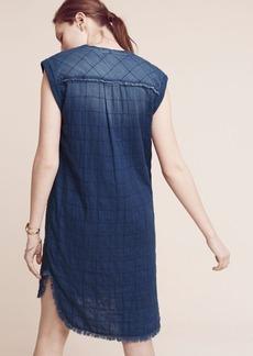 Frayed Tunic Dress