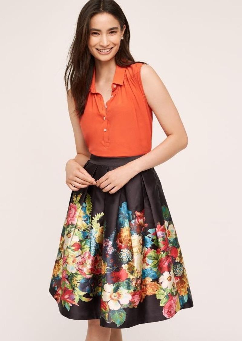 Anthropologie Garden Party Skirt