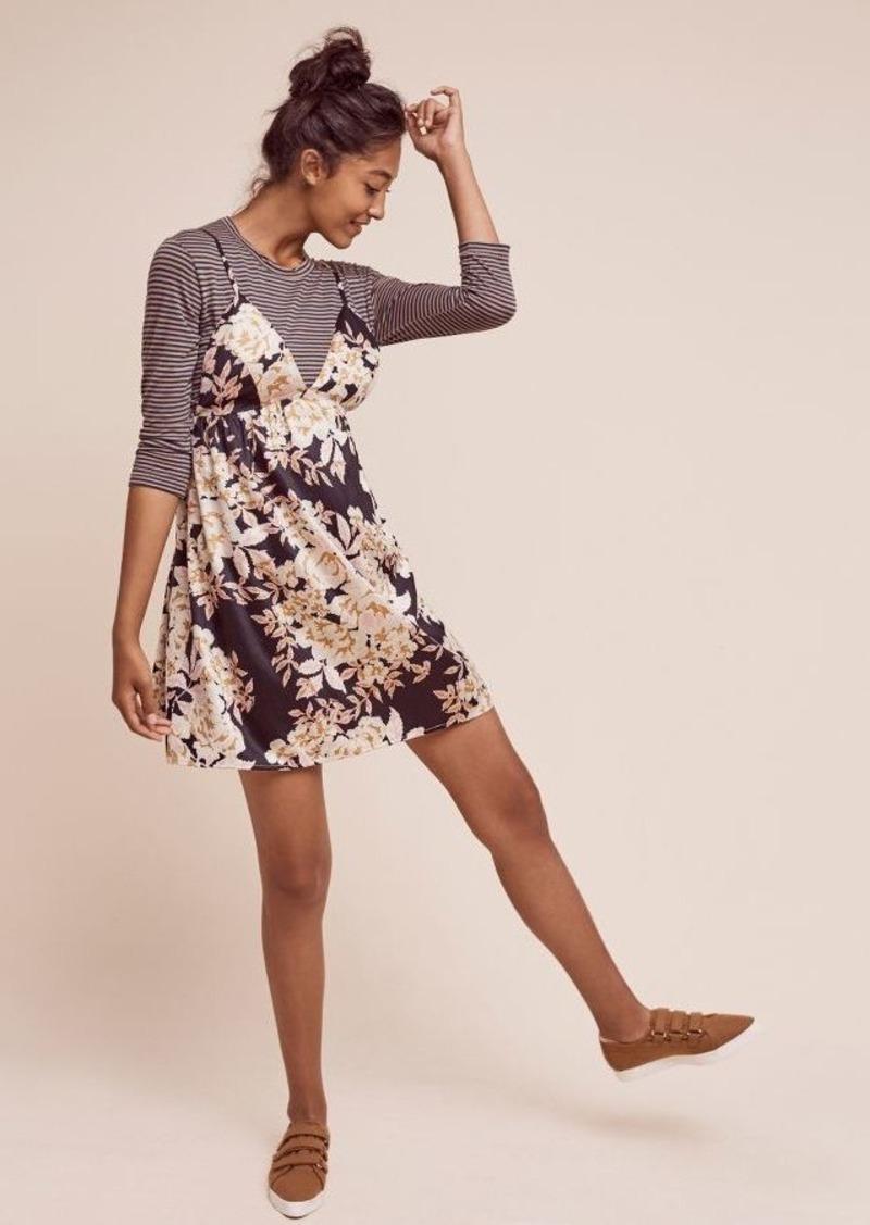 Anthropologie Genia Slip Dress