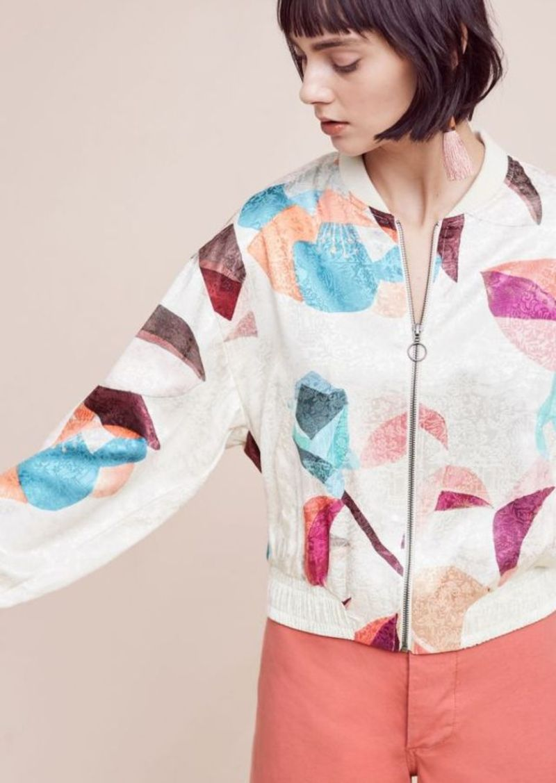 Anthropologie Geo Bomber