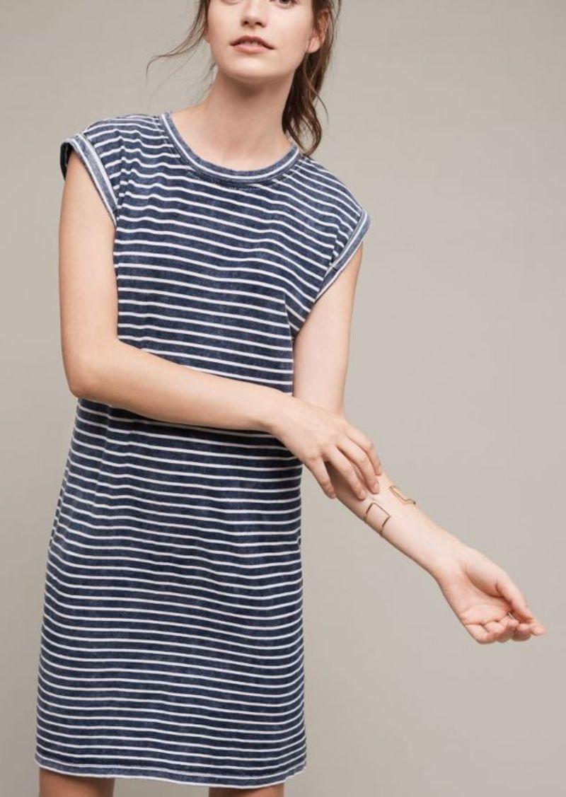 Anthropologie Granite T-Shirt Dress
