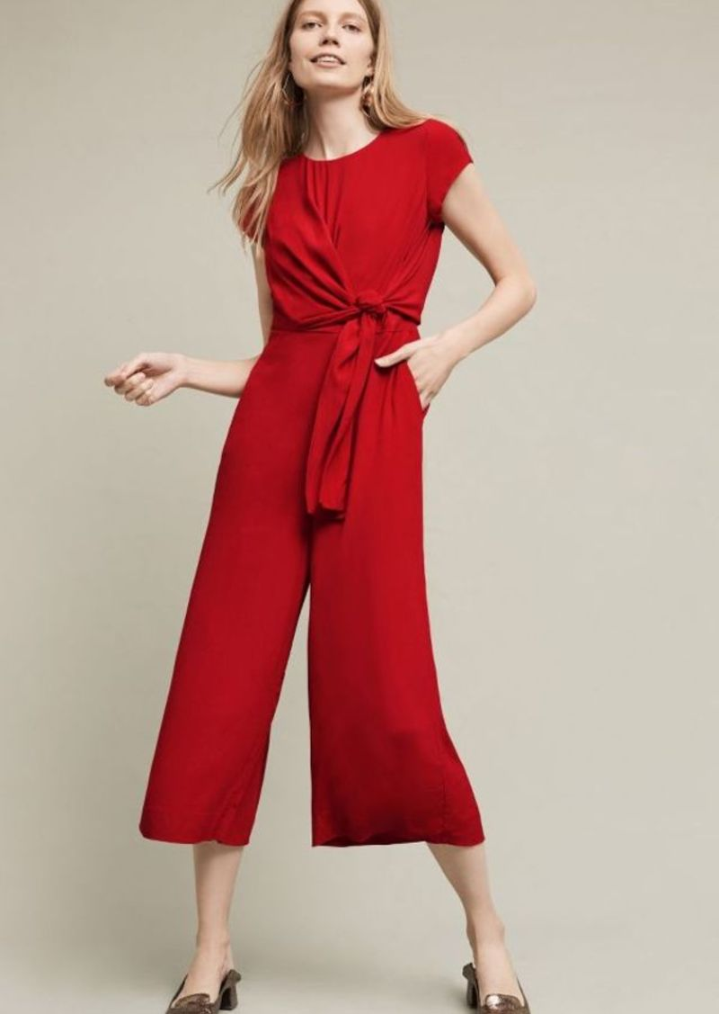 Anthropologie Grier Midi Jumpsuit