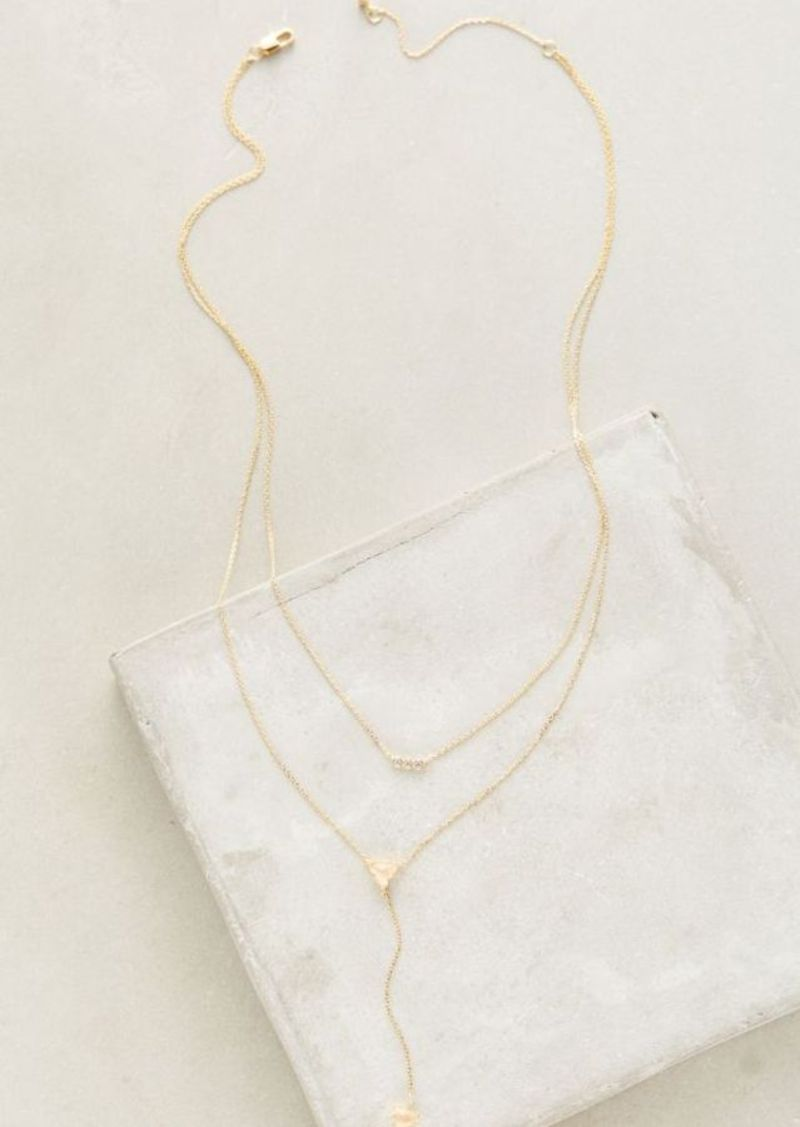 Anthropologie Gwendolyn Layer Necklace