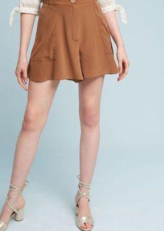 Hanky-Hem Silk Shorts