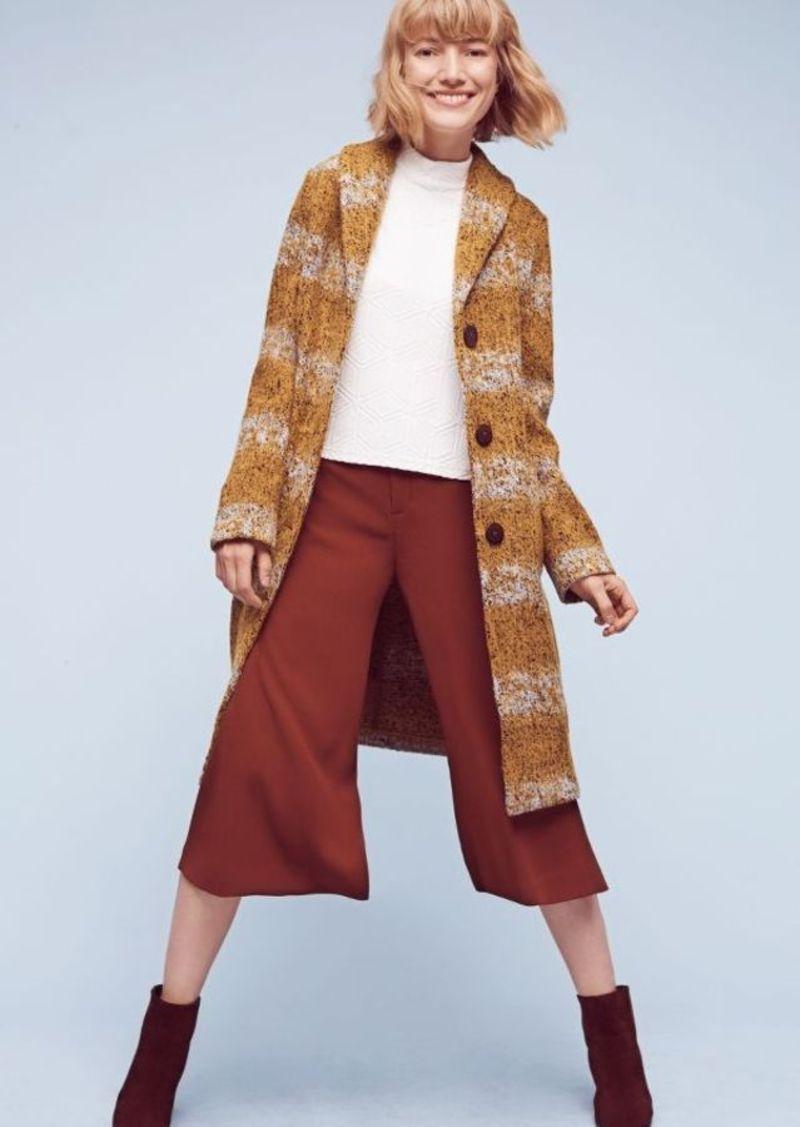 Anthropologie Harvest Sweater Coat