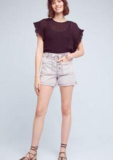 High-Rise Chino Shorts