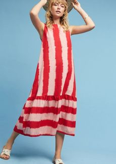 Ikat Striped Dress