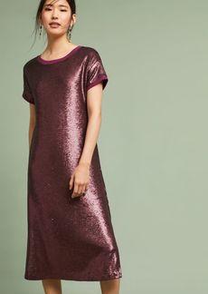 Anthropologie Interstellar Tunic Dress