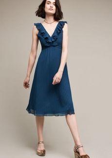 Isere Ruffled V-Neck Dress