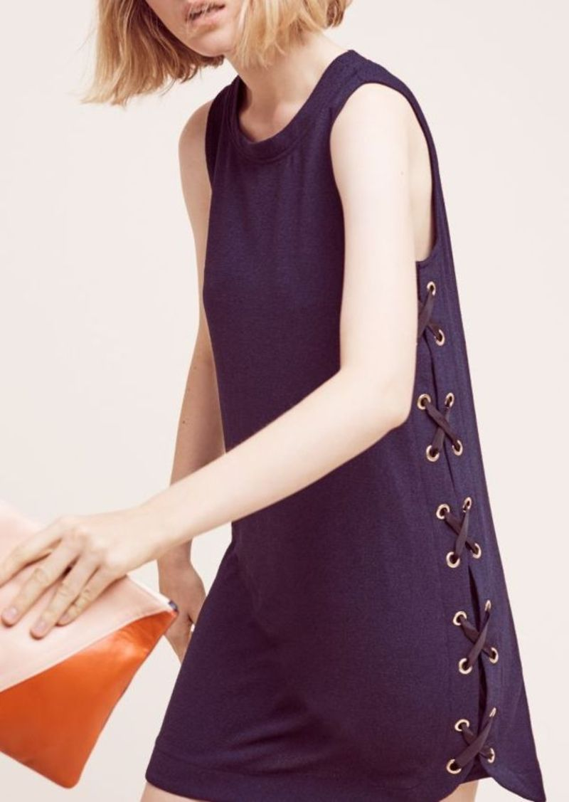 Anthropologie Isolde Lace-Up Dress