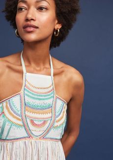 Anthropologie Itzel Halter Top
