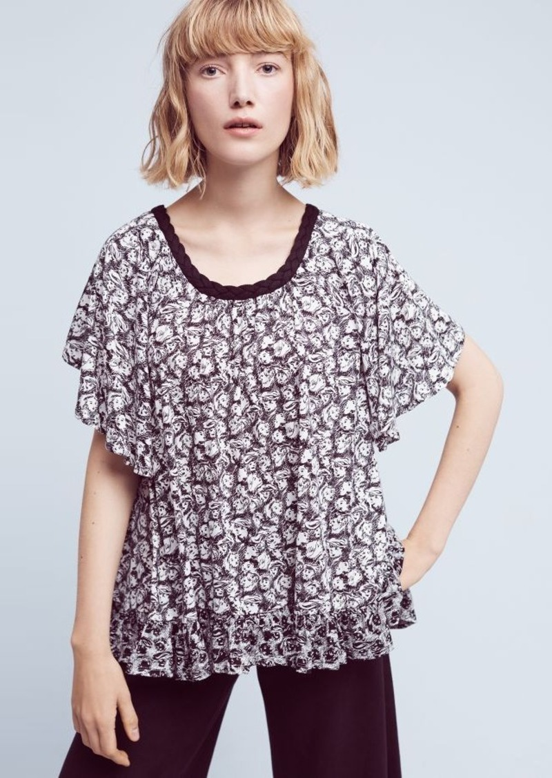 Anthropologie Jacquen Swing Top
