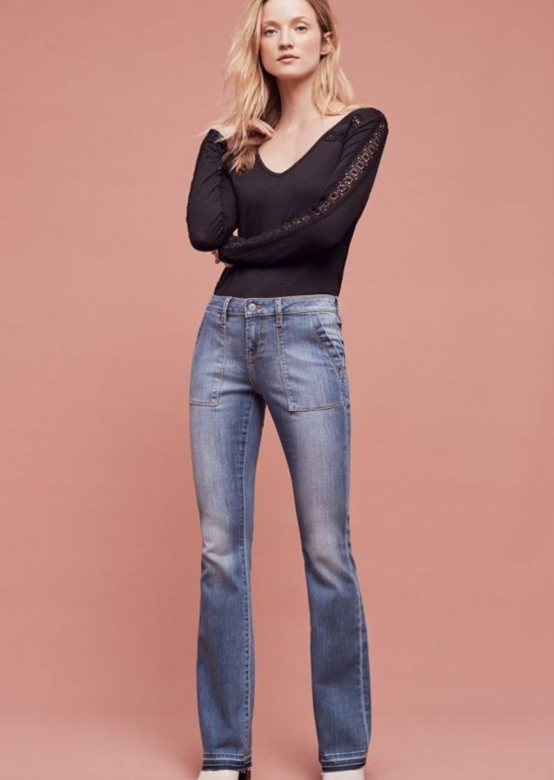 Anthropologie Jean Shop Cheryl Low-Rise Flare Jeans