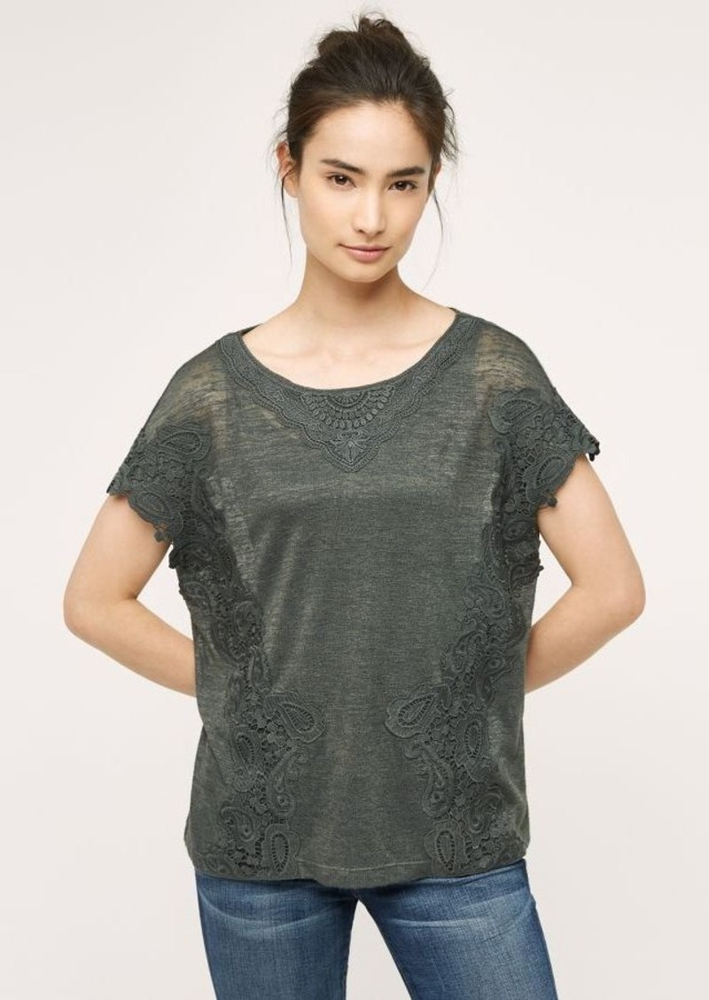 Anthropologie Joli Lace Tee