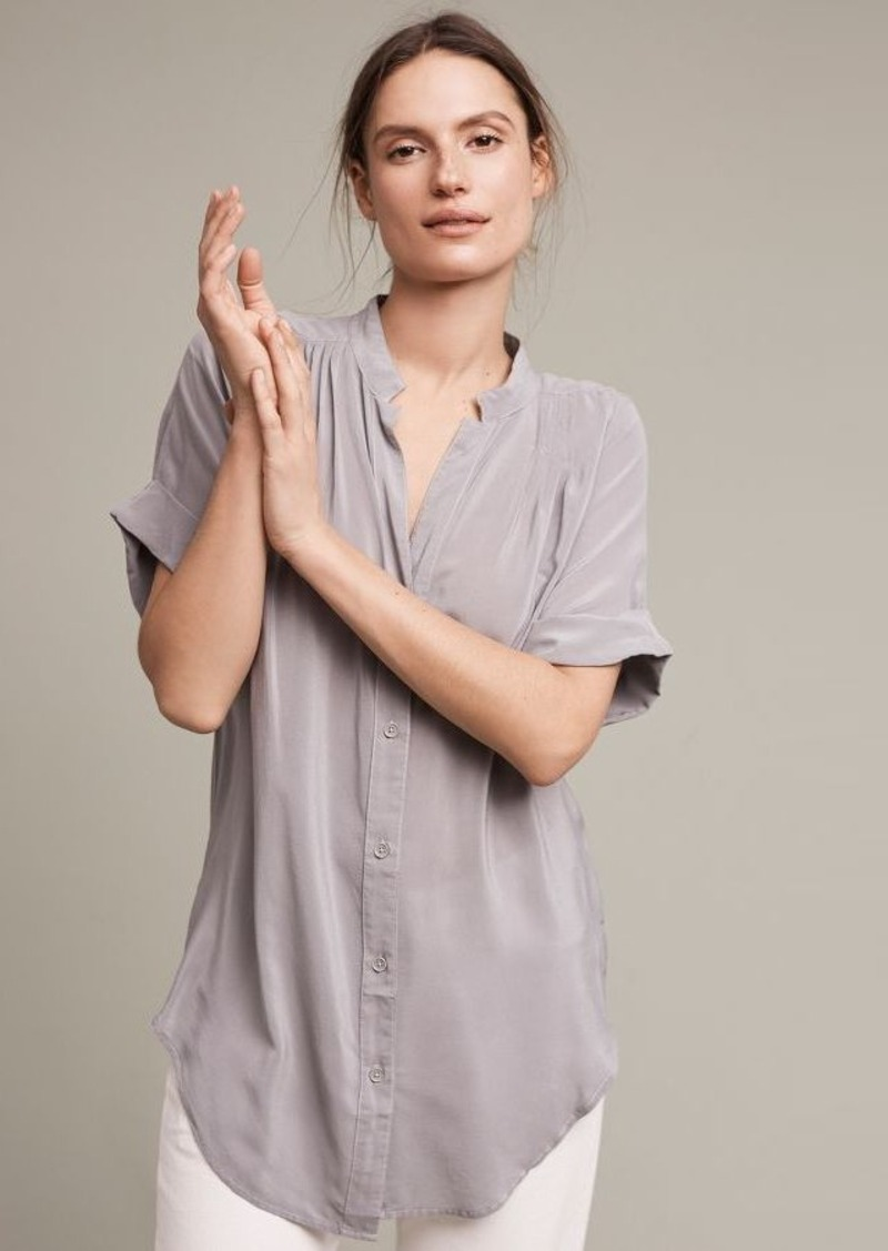 Anthropologie Juni Silk Blouse