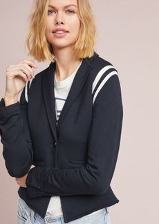 Juniper Striped-Sleeve Blazer