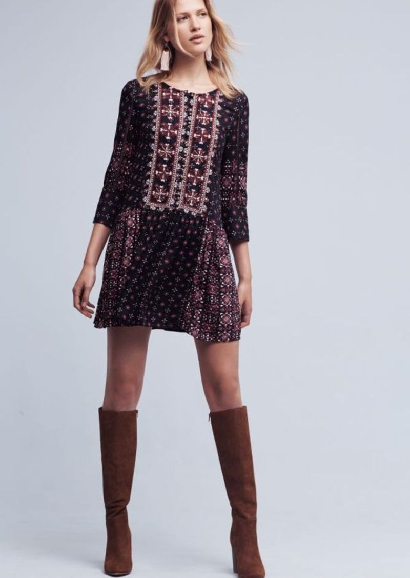 Anthropologie Kaleidoscope Shirtdress