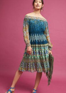 Anthropologie Kareena Off-The-Shoulder Dress