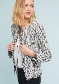 Karen Fringed Tweed Jacket