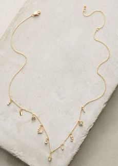 Anthropologie Key & Cosmos Layering Necklace