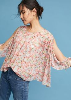 Anthropologie Kiva Open-Shoulder Blouse