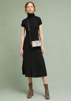 Knit Turtleneck Midi Dress
