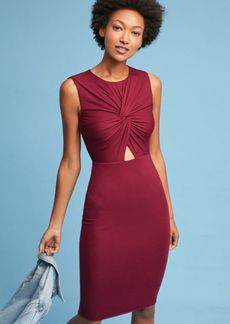 Anthropologie Knotted Cutout Dress