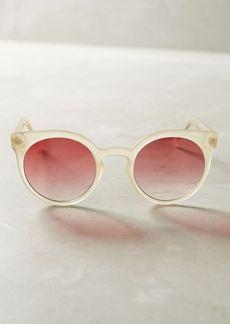 Anthropologie Komono Lulu Blush Sunglasses