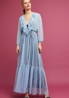 Korovilas Ruffled & Flounced Maxi Dress