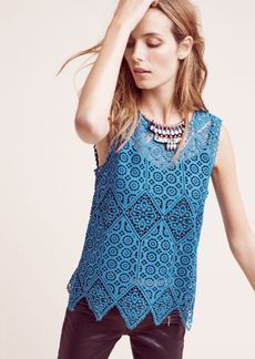 Anthropologie Lacework Shell