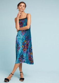 Lange Velvet Slip Dress