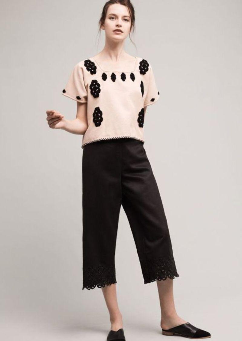 Anthropologie Lasercut Trousers