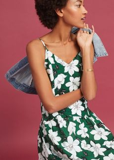 Anthropologie Lawn Party Midi Dress