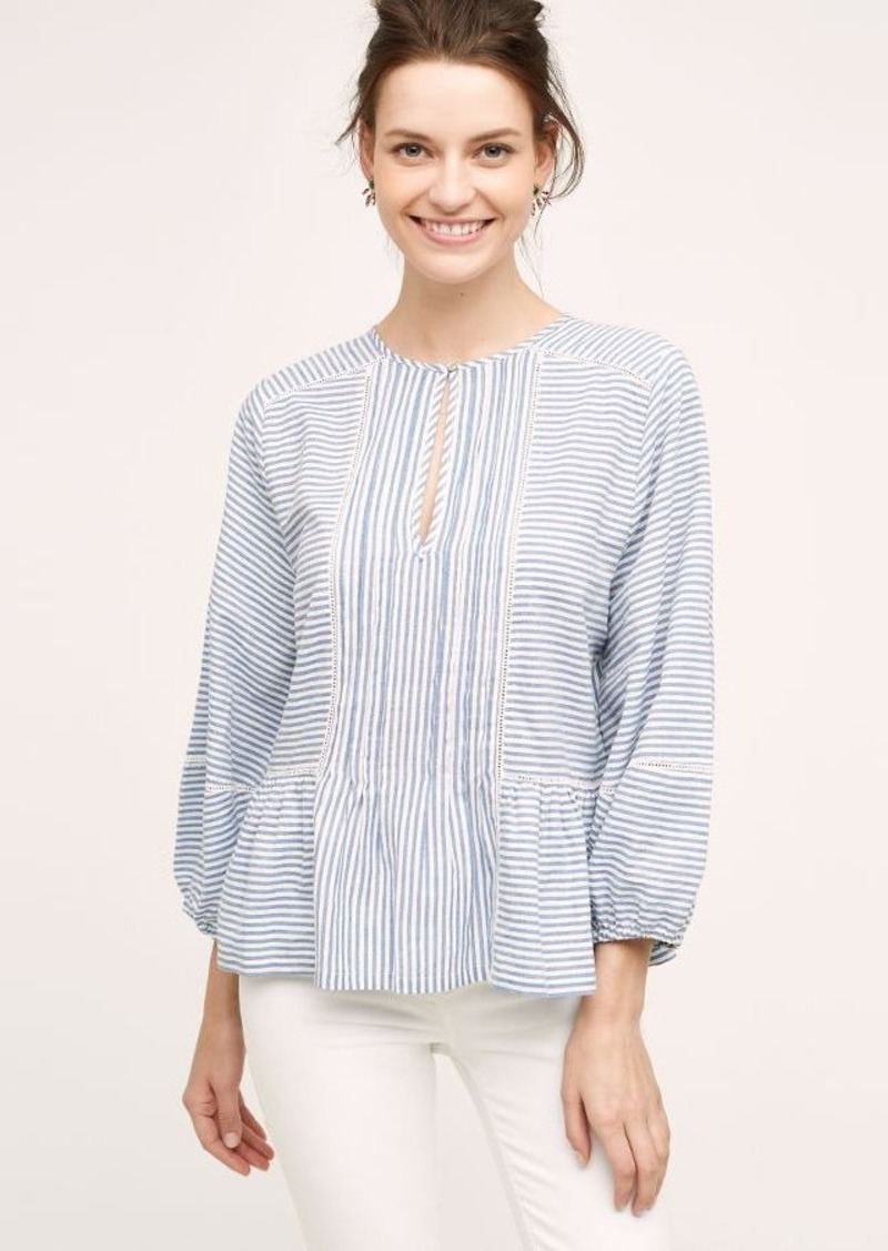 Anthropologie Lawson Peasant Top