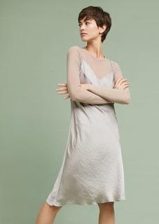 Anthropologie Layered Slip Dress