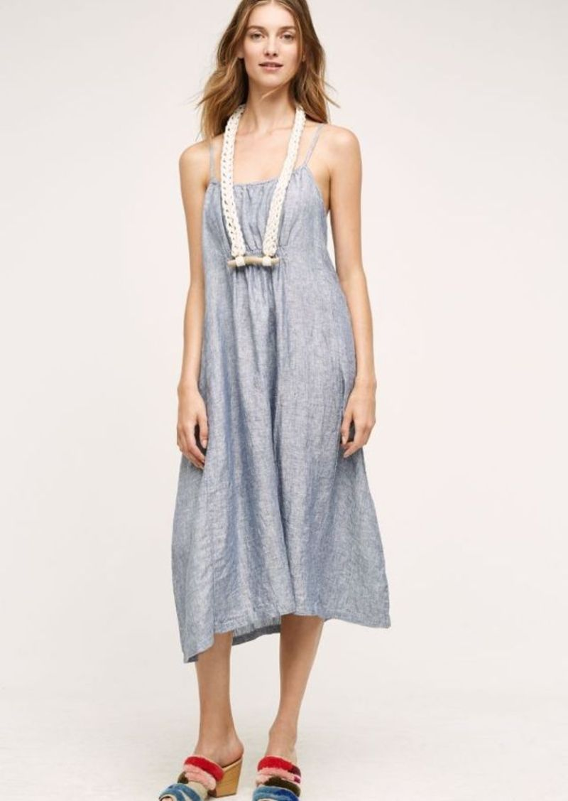 Anthropologie Layla Linen Dress