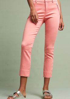 Anthropologie Level 99 Liza Sateen Skinny Trousers