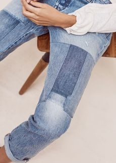 Anthropologie Levi's 501 CT Mid-Rise Relaxed Straight Jeans