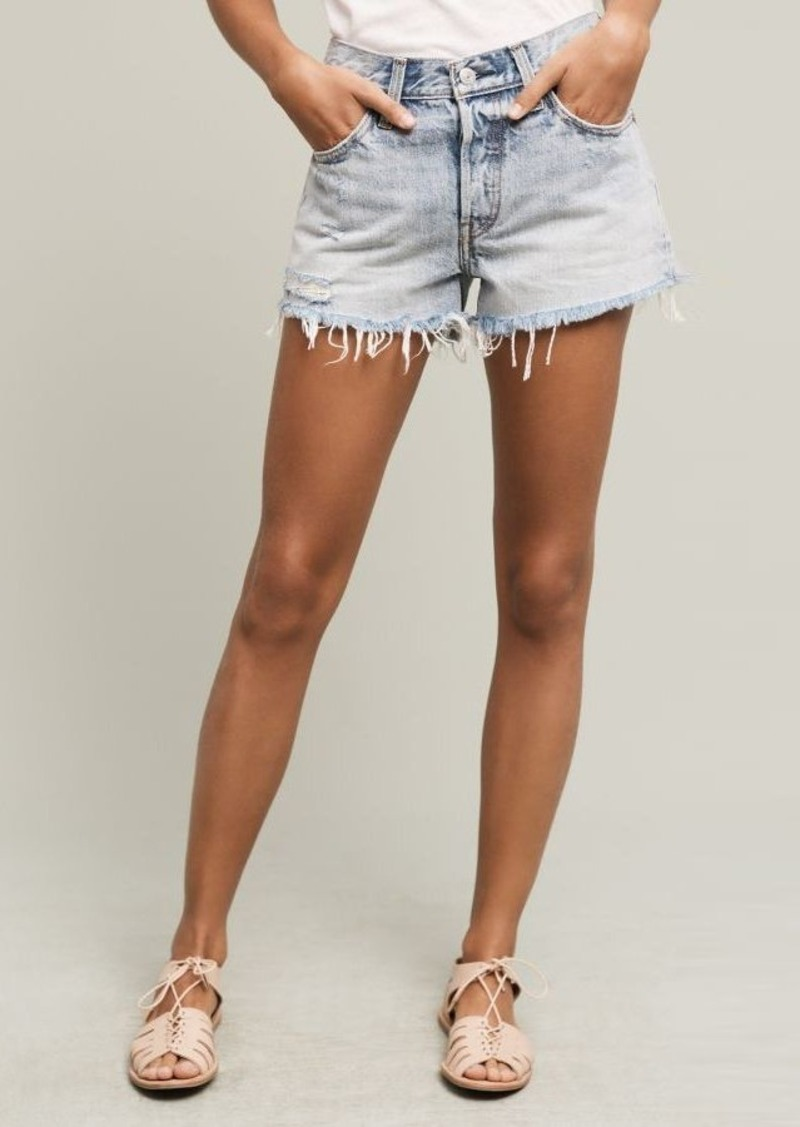 Anthropologie Levi's 501 High-Rise Shorts