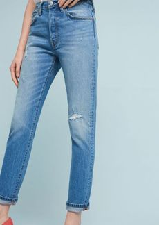 Anthropologie Levi's 501 Mid-Rise Straight Jeans