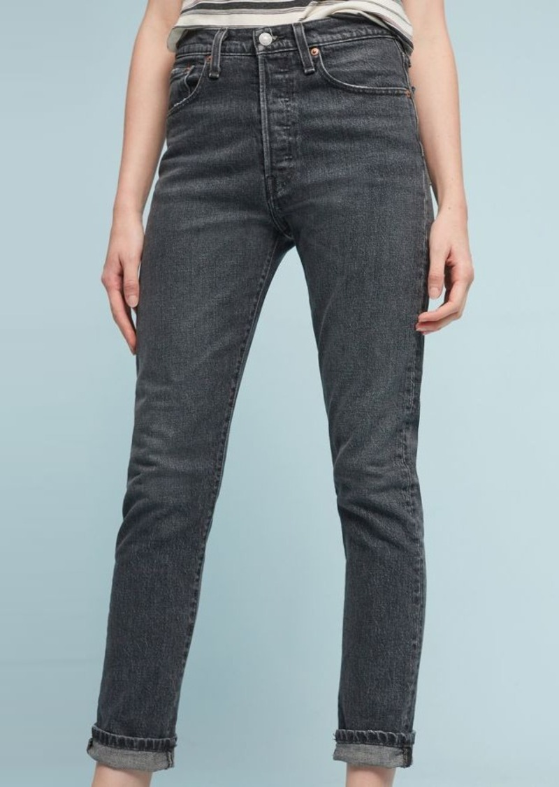 968cb88d64685 Anthropologie Levi s 501 Ultra High-Rise Skinny Jeans Now  39.95
