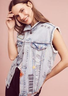 Levi's Patched Trucker Vest