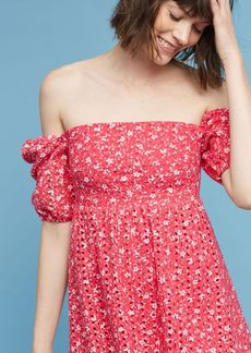 Anthropologie Lillianne Floral Dress