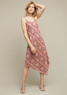 Anthropologie Lilou Beaded Slip Dress